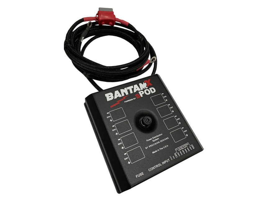 "sPOD BantamX Add-on for Uni with 36"" battery cables"