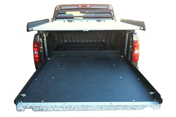 "CargoGlide Steel Truck Bed Sliding Tray 2200-HD Series | 2011-2020 Ram 1500/2500/3500, 2007-2019 Toyota Tundra, 2000-2009 Dodge Ram 6' 4"" bed"