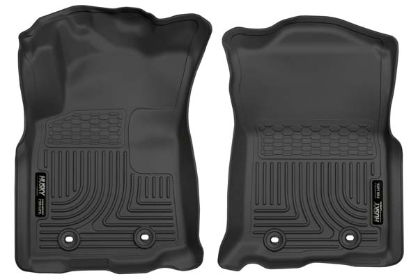 Husky Liners WeatherBeater Floor Liners Front Row Floor Liners | 2005-2020 Toyota Tacoma