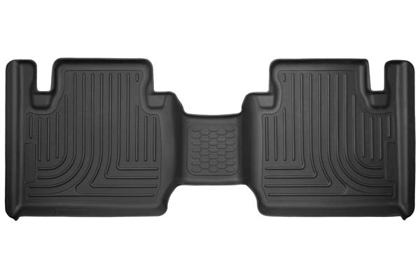 Husky Liners WeatherBeater Floor Liners 2nd Row Floor Liners | 2012-2020 Toyota Tacoma