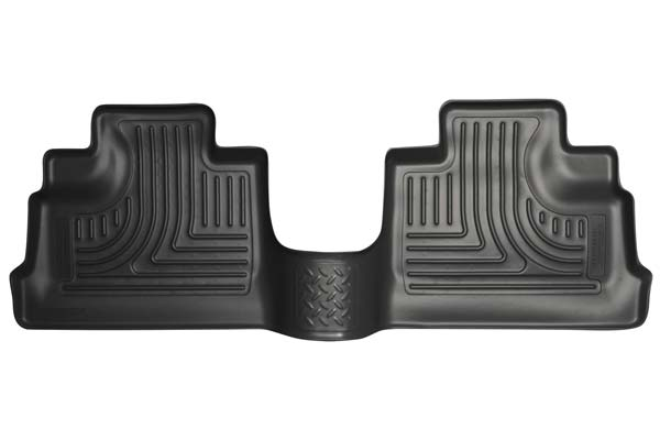 Husky Liners WeatherBeater Floor Liners 2nd Row Floor Liners | 2011-2018 Jeep Wrangler JK