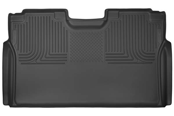Husky Liners WeatherBeater Floor Liners 2nd Row Floor Liners | Ford F-350