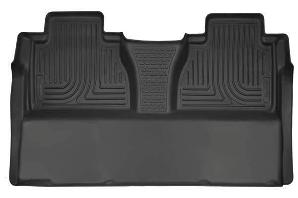 Husky Liners WeatherBeater Floor Liners 2nd Row Floor Liners | 2007-2020 Toyota Tundra