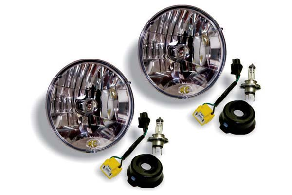 KC HiLites Halogen Replacement Universal Headlights