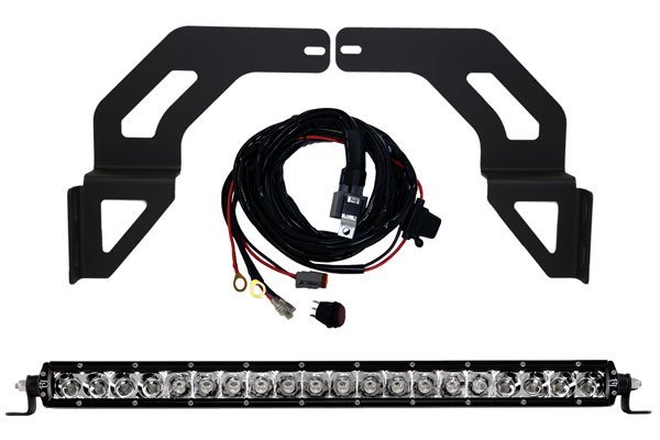 Rigid Bumper Mounted LED Light Kit