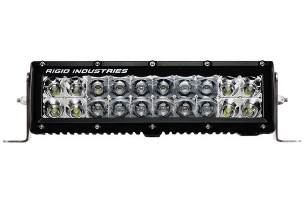 Rigid Industries E Series LED Light Bars Spot/Flood Combination Light Beam Pattern