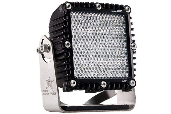 Rigid Industries Q2 Series LED Lights Diffused Light Beam Pattern
