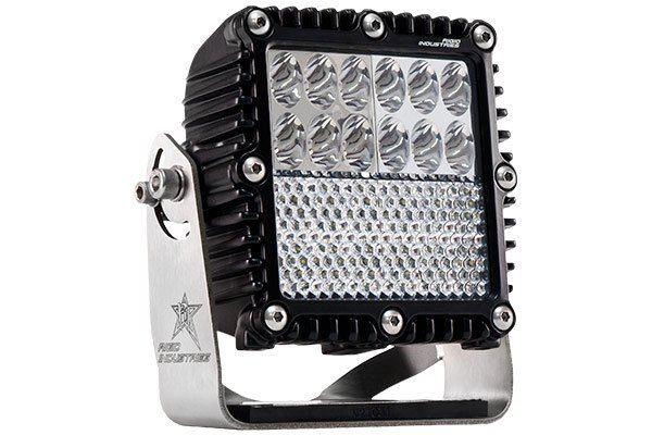 Rigid Industries Q2 Series LED Lights Driving/Down Diffused Combination Light Beam Pattern