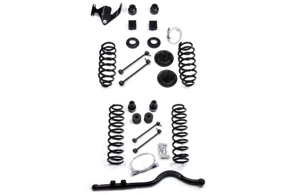 "TeraFlex Lift Kits 4"" Coil Spring Lift Kit with Track Bar"