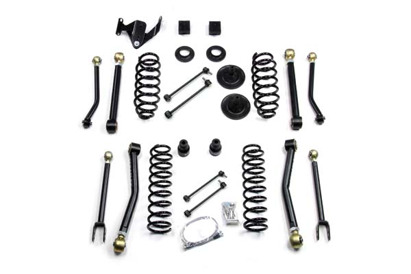 "TeraFlex Lift Kits 3"" Suspension System with 8 Adjustable Short Control Arms"