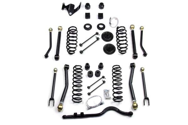 "TeraFlex Lift Kits 4"" Suspension System with 8 Adjust Short Control Arms & Front Track Bar"