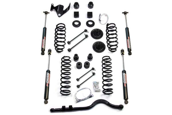 "TeraFlex Lift Kits 4"" Coil Spring Base Lift Kit with Front Track Bar"