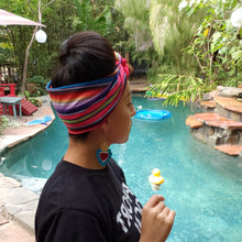 Load image into Gallery viewer, Reversible Sarape Headwrap