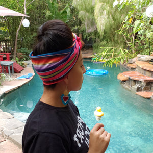 Reversible Sarape Headwrap