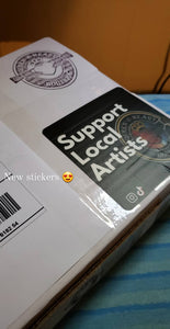 Support Local Artists Sticker