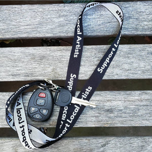 Support Local Artists Key Lanyard