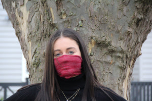 Mini Red Breathable Face Covering