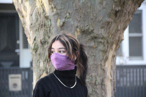 Maxi Purple Breathable Face Covering