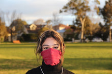 Load image into Gallery viewer, Maxi Red Breathable Face Covering