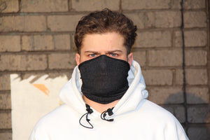 Maxi Black Breathable Face Covering