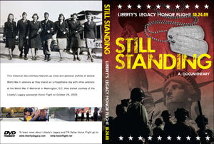 """Still Standing"" WWII & Honor Flight Documentary DVD"