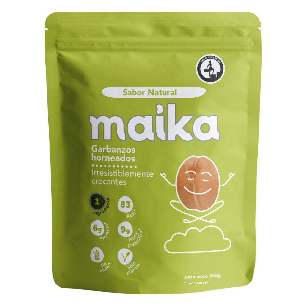 Maika - Snack Bolitas Garbanzos Natural