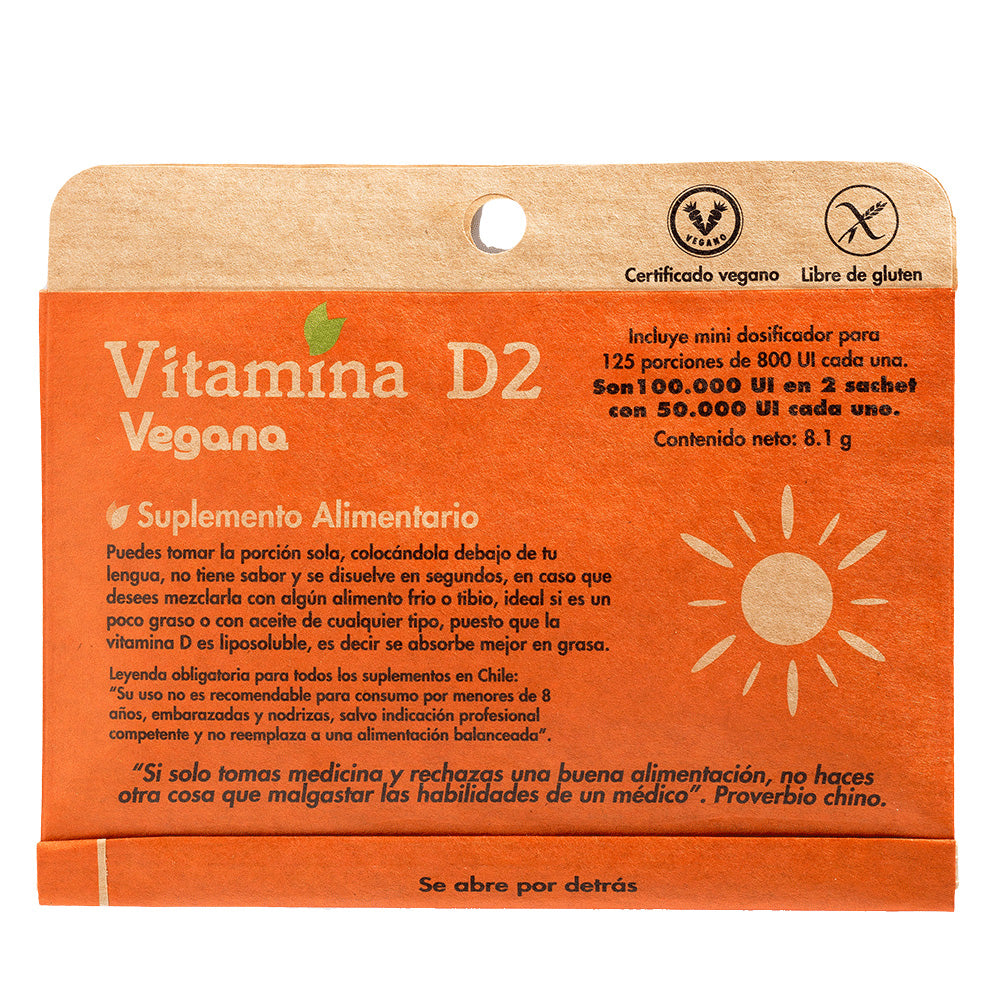 Vitamina D2 Dulzura Natural