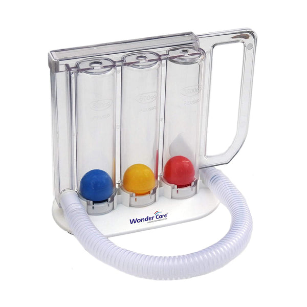 Respirometer Three Ball Deep Breathing Lung Exerciser