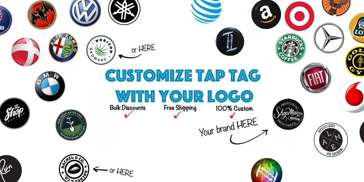 Create custom NFC tags for business or personal. Custom and personalized NFC tags to use for anything