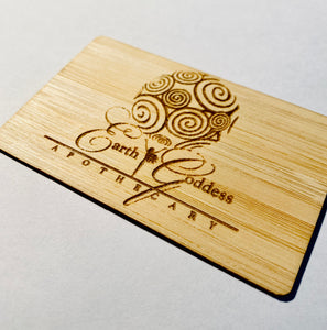 NFC Business card - Sustainable Bamboo