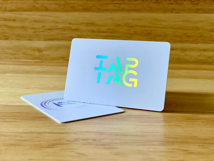 Tap Tag NFC business cards