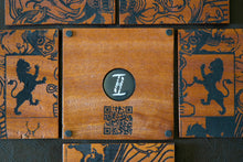 Load image into Gallery viewer, Custom Tigerwood NFC Coaster set