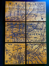 Load image into Gallery viewer, NYC SUBWAY MAP COASTER