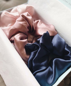 The Statement Silk Scrunchie Gift Set