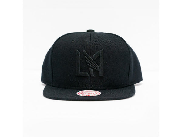 Mitchell & Ness LAFC Wool All Black Snapback Hat