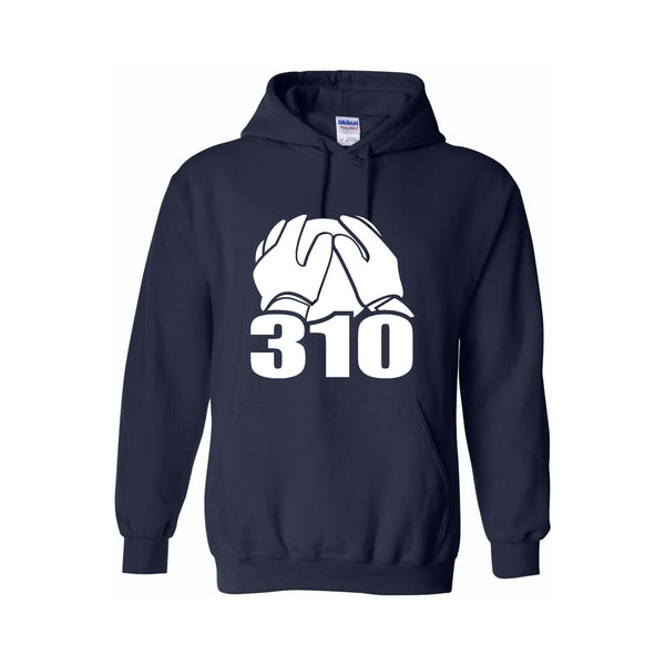 BF310 Cotton Hoodie - Navy