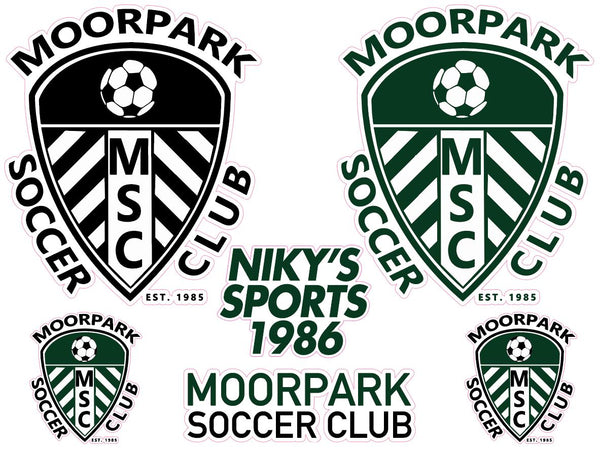 MOORPARK STICKER SET