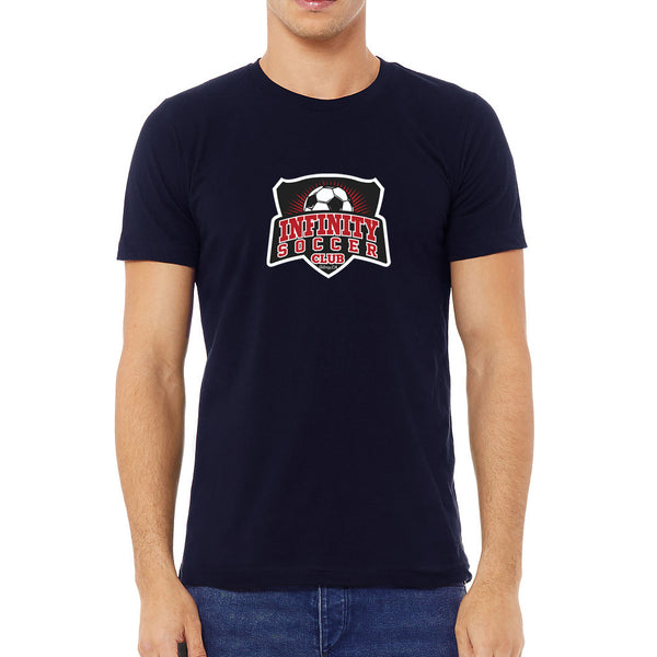 Infinity Short Sleeve T Shirt Navy