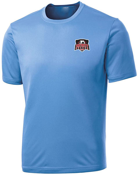 Infinity Short Sleeve Training Shirt Sky Blue Unisex