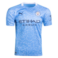 Puma Manchester City Home Jersey 2020-21 Youth