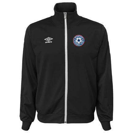 Men's Sporting FC DOUBLE DIAMOND INTERLOCK Jacket Black w/ Team Logo