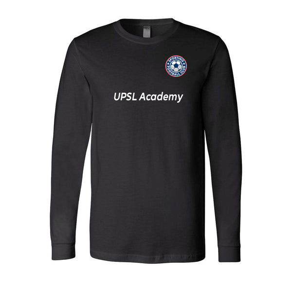 Adult Sporting FC T Shirt Long Sleeve