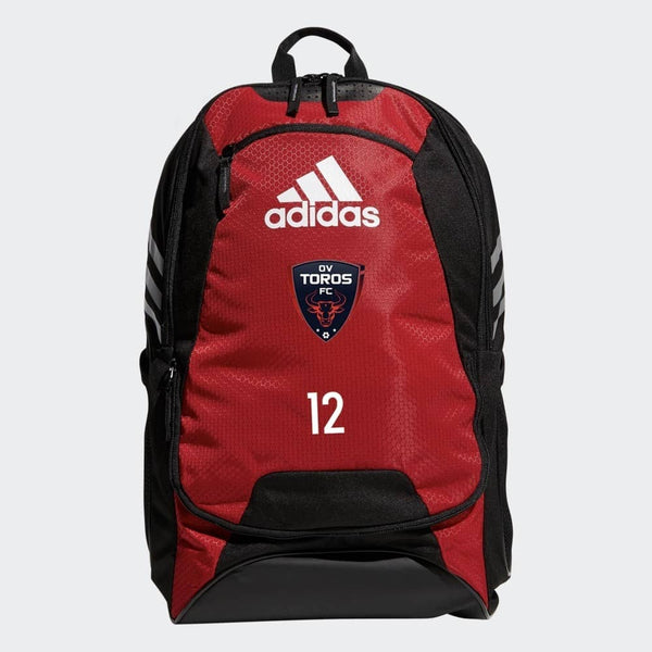 OV Toros Stadium II Team Backpack Red