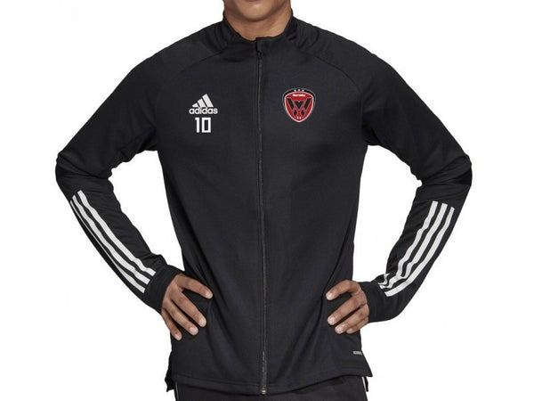 WVSC Warm Up Jacket Black Youth