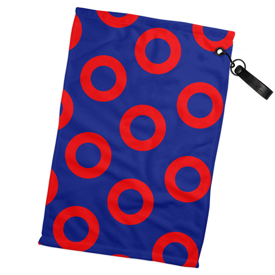 Donut Golf Towel