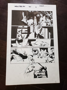 AMAZING SPIDER-MAN 797 PAGES 6 & 7 - BY STUART IMMONEN