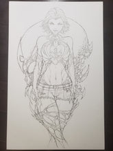 Load image into Gallery viewer, COVER - WHITE WIDOW #1 - JAMIE TYNDALL INK & PENCIL