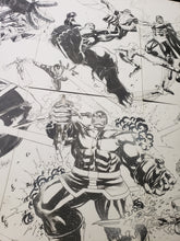 Load image into Gallery viewer, 8 PAGE ORIGINAL ART CHARACTERS OF MARVEL MEGA POSTER - LEONARDO GONDIM