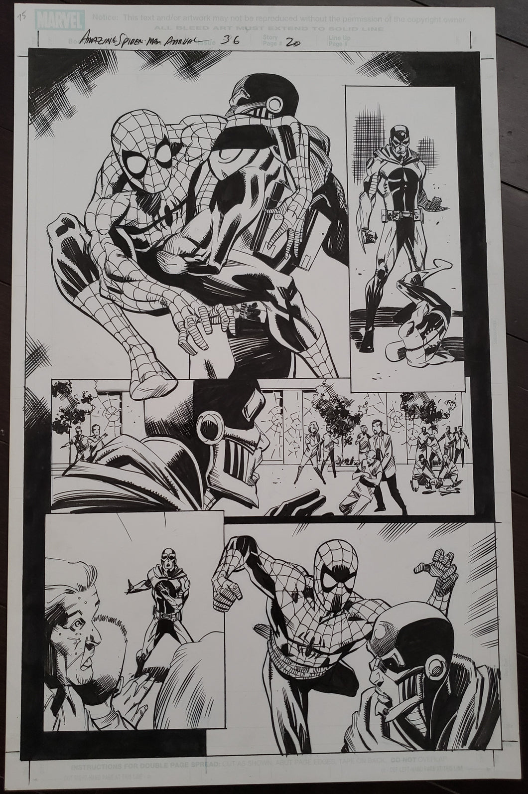 Amazing Spider-Man Annual 36 - Page 20 - Pat Oliffe / Andy Lanning - FIRST APPEARANCE!!