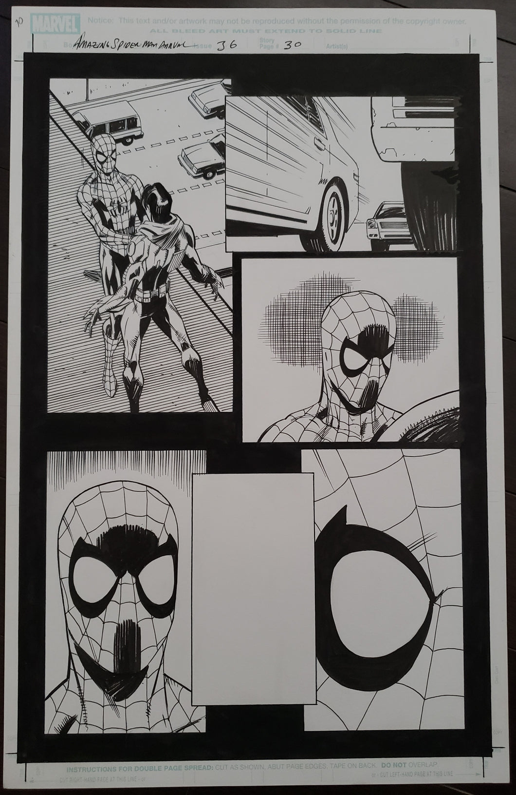 Amazing Spider-Man Annual 36 - Page 30 - Pat Oliffe / Andy Lanning - FIRST APPEARANCE!!